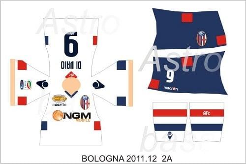 Bologna away 2011/2012