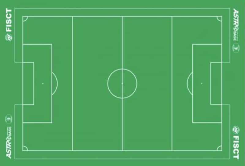 ASTROTURF PRO Table Soccer STICKY BACK
