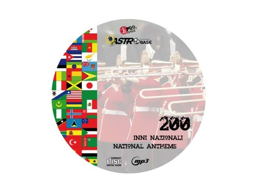 NATIONAL ANTHEMS on CD