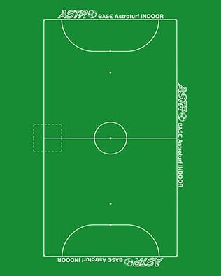REDUCED SIZE PITCHES (to 5, to 6, to 7, indoor football)