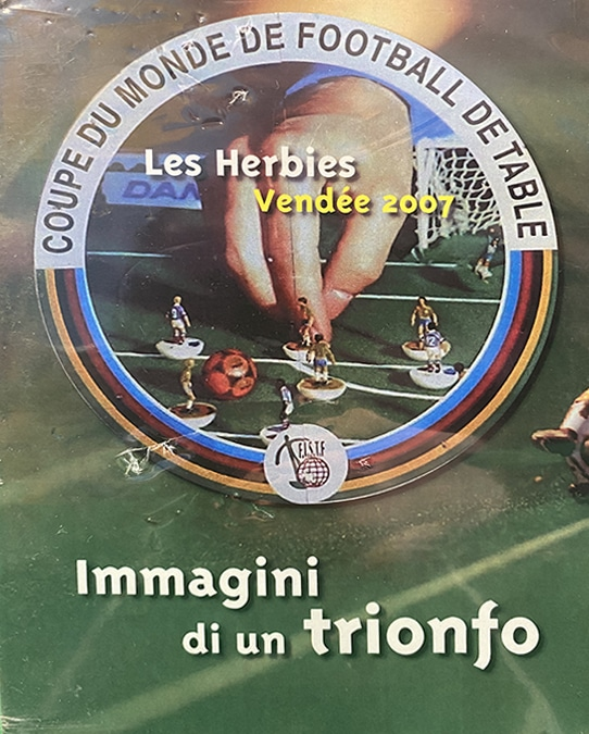DVD FISTF WORLD CUP LES HERBIES 2007 – IMAGES OF A TRIUMPH
